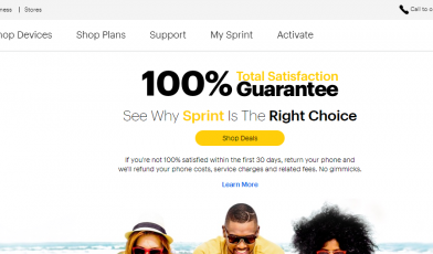 Best Value in Wireless Sprint Logo