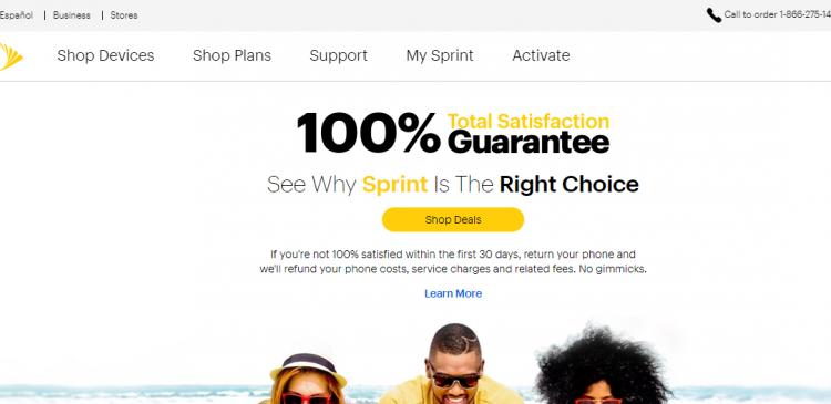 Best Value in Wireless Sprint Logo