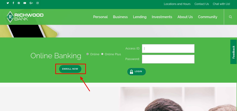 Richwood Bank Enroll Now