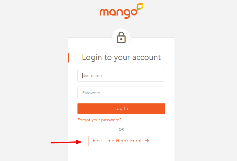 Mango Money Card Enroll