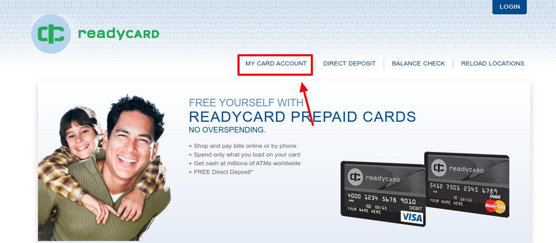 ReadyCARD Account