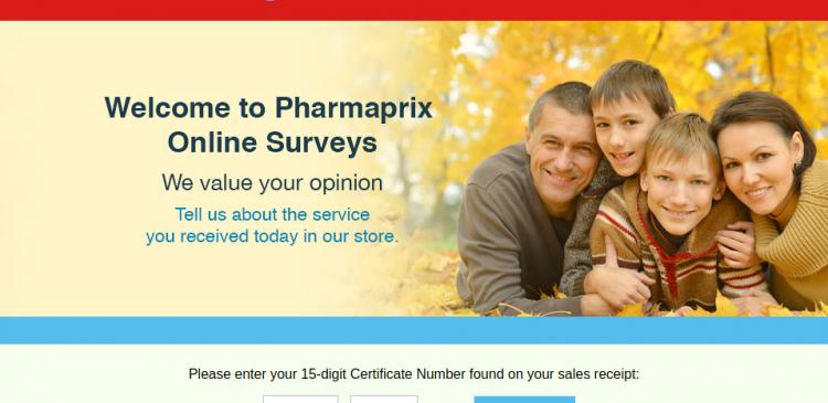Pharmaprix Guest Survey