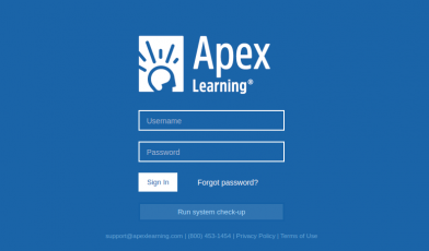 Apex Learning Login