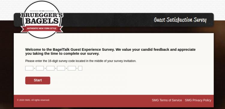 Brueggers Bagels Survey