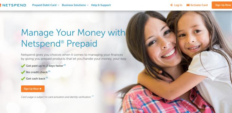 Netspend Prepaid Card Logo