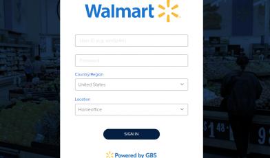 WalmartOne Sign in