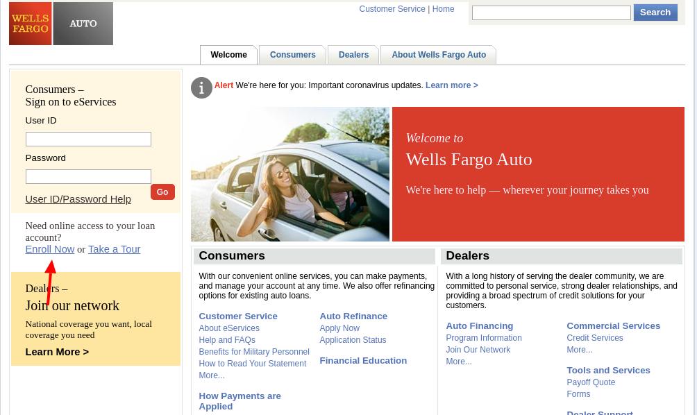 Wells Fargo Auto Enroll