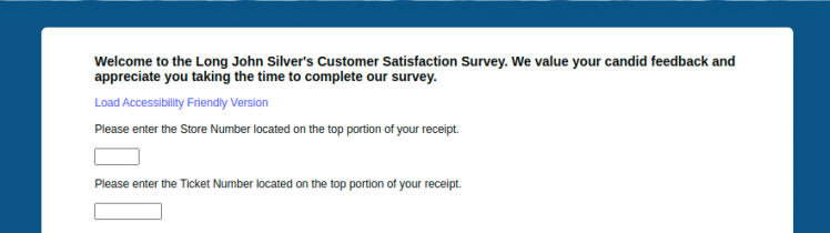 Long John Silvers Customer Survey Logo