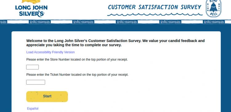 Long John Silvers Customer Survey Logo