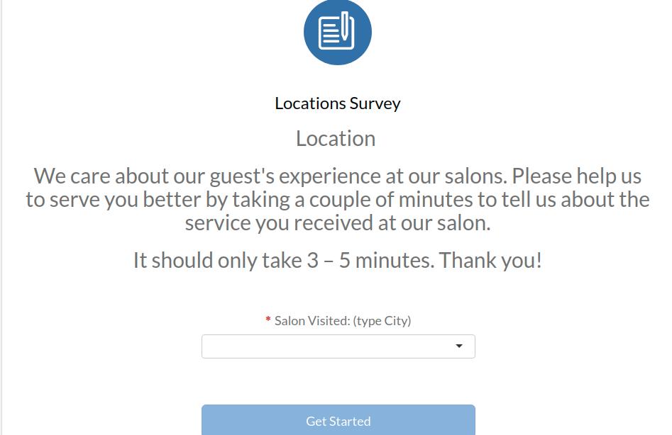 REG Survey