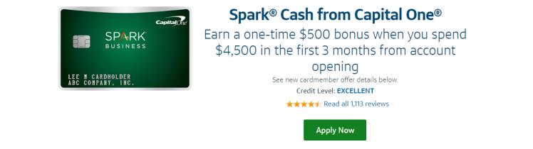 Capital One Spark Credit Card Logo