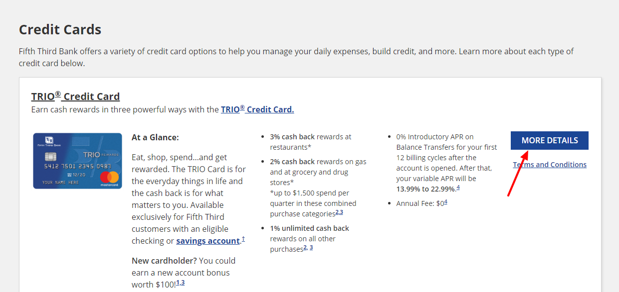 Fifth Third Credit Cards Apply