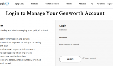 Genworth Customer Login