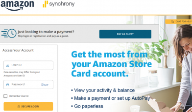 Amazon Credit Card Logo