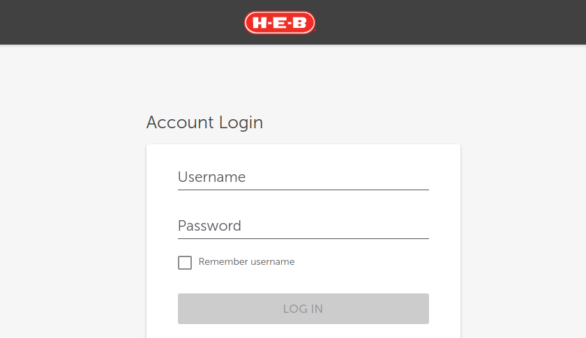 Heb Prepaid Card Login