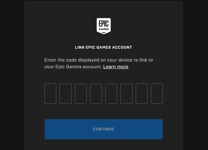 epic games activate