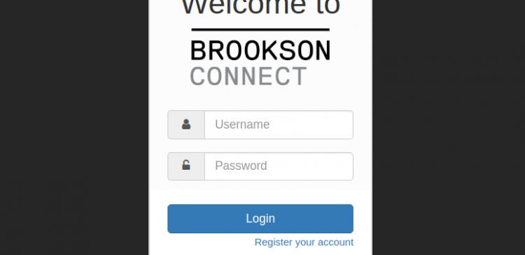 brookson connect 3.0 login